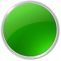 グリーンの丸ボタン Vista のアイコン 無料のアイコン 無料素材イラスト ベクターのフリーデザイナー