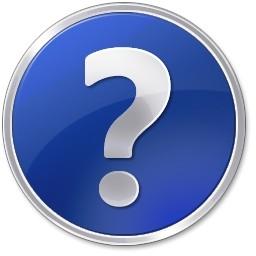 青い丸ボタン Vista のアイコン 無料のアイコンを助ける 無料素材イラスト ベクターのフリーデザイナー