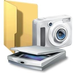 カメラやイメージスキャナー フォルダーの Vista のアイコン 無料のアイコン 無料素材イラスト ベクターのフリーデザイナー
