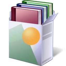ボックス本 Vista のアイコン 無料のアイコン 無料素材イラスト ベクターのフリーデザイナー