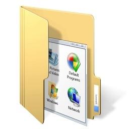 ドキュメント フォルダー Vista のアイコン 無料のアイコン 無料素材イラスト ベクターのフリーデザイナー