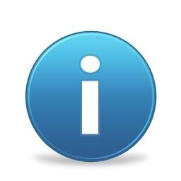 青い丸情報サイン Vista のアイコン 無料のアイコン 無料素材イラスト ベクターのフリーデザイナー