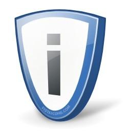 八ツ目鰻青い情報サイン Vista のアイコン 無料のアイコン 無料素材イラスト ベクターのフリーデザイナー