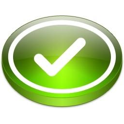 グリーン丸ティック Vista のアイコン 無料のアイコン 無料素材イラスト ベクターのフリーデザイナー