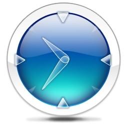青い時計 Vista のアイコン 無料のアイコン 無料素材イラスト ベクターのフリーデザイナー