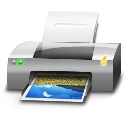 カラー プリンターの Vista のアイコン 無料のアイコン 無料素材イラスト ベクターのフリーデザイナー