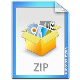 Zip ファイル形式は Vista のアイコン 無料のアイコン 無料素材イラスト ベクターのフリーデザイナー