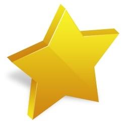黄色い星の Vista のアイコン 無料のアイコン 無料素材イラスト ベクターのフリーデザイナー