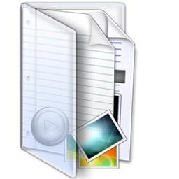 マルチ メディア フォルダー Vista のアイコン 無料のアイコン 無料素材イラスト ベクターのフリーデザイナー