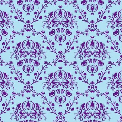 無料ベクター素材 花柄パターン ベクター - 無料ベクター