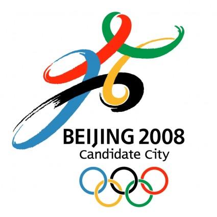 北京 2008年ベクターロゴ - 無料ベクター | 無料素材イラスト ...