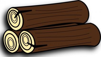 Farmeral 木材アイコン クリップ アート ベクター クリップ アート - 無料ベクター   無料素材イラスト・ベクターのフリーデザイナー