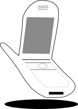 携帯電話クリップアート ベクター クリップ アート 無料ベクター