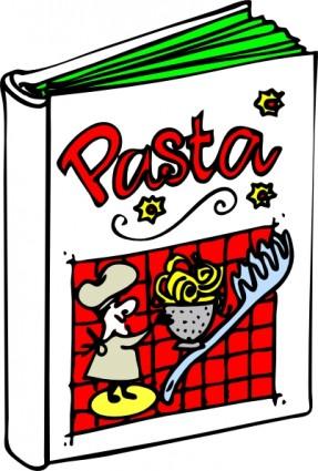 イタリア料理本クリップアート ベクター クリップ アート 無料ベクター