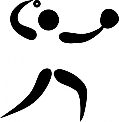 オリンピック スポーツ ソフトボール ピクトグラム クリップアート
