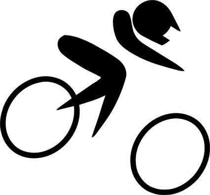 自転車の ルート 自転車 無料 : Olympic Sports Symbols Clip Art