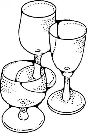 ワイングラス クリップアート ベクター クリップ アート 無料ベクター