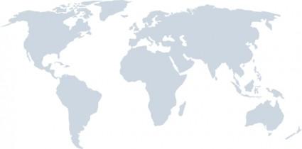 世界地図より詳細クリップアート ベクター クリップ アート 無料