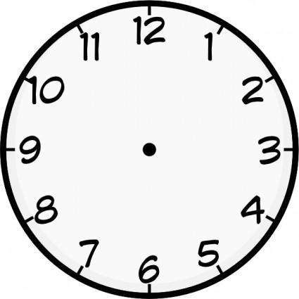 Clock Face Template