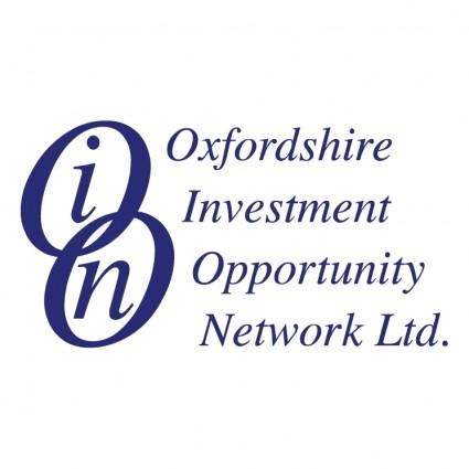 オックスフォードシャー州投資 ...
