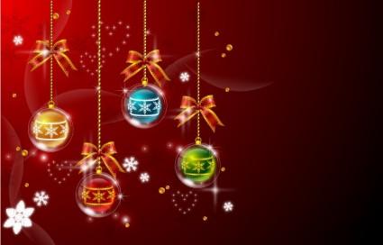 クリスマスの背景ベクターの背景 無料ベクター 無料素材イラスト
