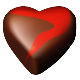 チョコレート ハート 12 無料アイコン 72 16 Kb 無料素材イラスト ベクターのフリーデザイナー