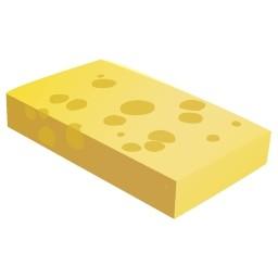 チーズ塊無料アイコン 33 85 Kb 無料素材イラスト ベクターのフリーデザイナー