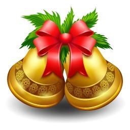 クリスマス ベルの無料アイコン 132 57 Kb 無料素材イラスト ベクターのフリーデザイナー