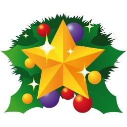 クリスマス スター無料アイコン 55 Kb 無料素材イラスト ベクターのフリーデザイナー