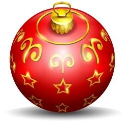 クリスマス ツリーのボール無料アイコン 112 53 Kb 無料素材イラスト ベクターのフリーデザイナー