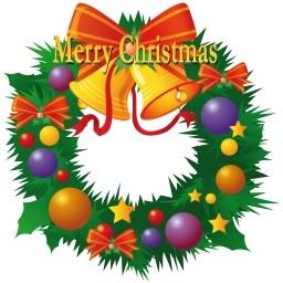 クリスマス リース無料アイコン 142 86 Kb 無料素材イラスト ベクターのフリーデザイナー