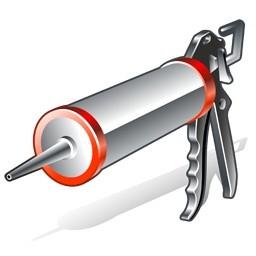 シリコン銃のアイコン 無料のアイコン 無料素材イラスト ベクターのフリーデザイナー
