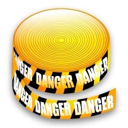 注意テープ無料アイコン 121 63 Kb 無料素材イラスト ベクターのフリーデザイナー