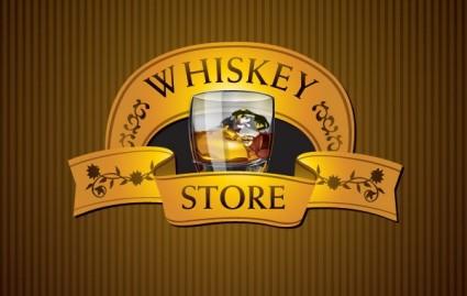 ウイスキー ストア無料ベクター 435.00 KB | 無料素材イラスト ...
