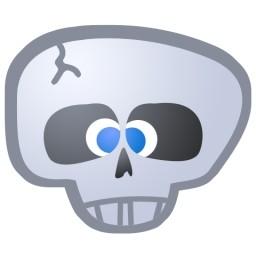 頭蓋骨無料アイコン 65 31 Kb 無料素材イラスト ベクターのフリーデザイナー