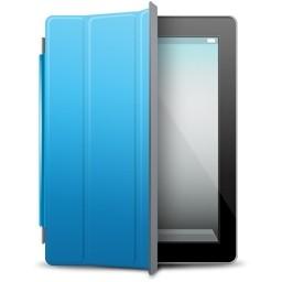 Ipad と黒青カバー無料アイコン 61 35 Kb 無料素材イラスト ベクターのフリーデザイナー