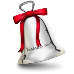 クリスマスのベルのアイコン 無料のアイコン 無料素材イラスト ベクターのフリーデザイナー