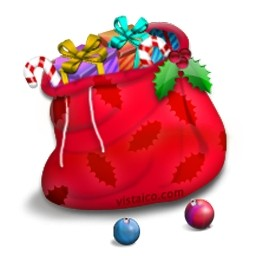 サンタの袋のアイコン 無料のアイコン 無料素材イラスト ベクターのフリーデザイナー
