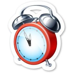 目覚まし時計無料アイコン 103 Kb 無料素材イラスト ベクターのフリーデザイナー