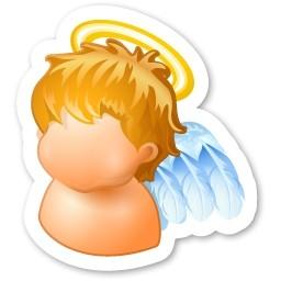 天使無料アイコン 106 Kb 無料素材イラスト ベクターのフリーデザイナー