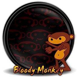 流血猿 1 無料アイコン 123 95 Kb 無料素材イラスト ベクターのフリーデザイナー