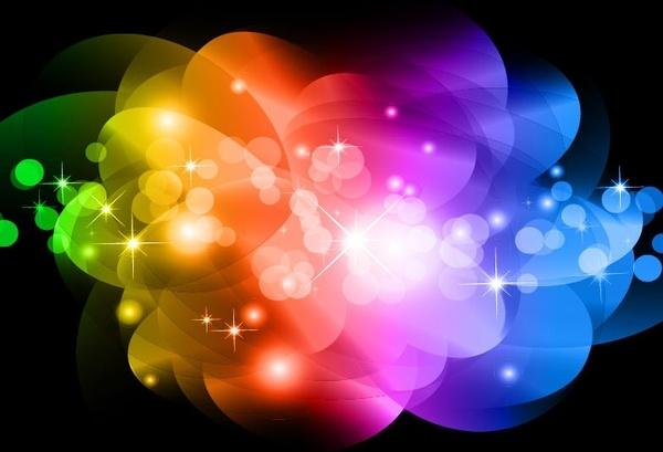 無料ベクター素材 光る抽象的なテキスト効果ベクター要約 - 無料ベクター