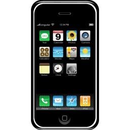 アップル Iphone の無料アイコン 57 07 Kb 無料素材イラスト ベクターのフリーデザイナー