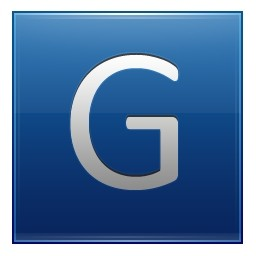 手紙 G ブルー無料アイコン 36 51 Kb 無料素材イラスト ベクターのフリーデザイナー