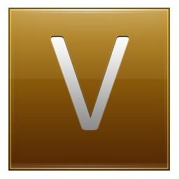 手紙 V ゴールド無料アイコン 37 91 Kb 無料素材イラスト ベクターのフリーデザイナー