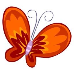 赤蝶無料アイコン 73 95 Kb 無料素材イラスト ベクターのフリーデザイナー