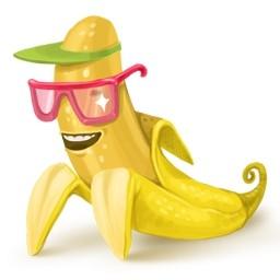 バナナ無料アイコン 113 71 Kb 無料素材イラスト ベクターのフリーデザイナー