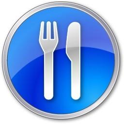 レストラン ブルー無料アイコン 124 Kb 無料素材イラスト ベクターのフリーデザイナー