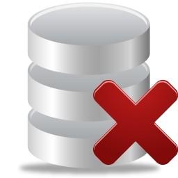 データベース無料アイコン 42 91 Kb から削除します 無料素材イラスト ベクターのフリーデザイナー