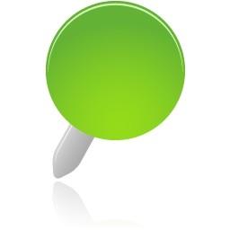 ピン緑無料アイコン 34 96 Kb 無料素材イラスト ベクターのフリーデザイナー